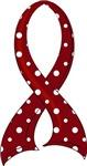 Polka Dot Ribbon Sickle Cell Anemia Tees