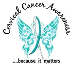 Cervical Cancer Butterfly 6.1