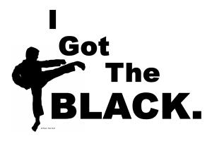 I Got The BLACK.