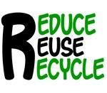 Reduce Reuse Recycle 2 Environmental Tees