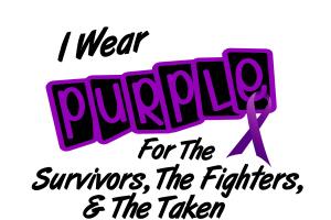I Wear Purple 8 (Survivors Fighters Taken)