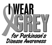 I Wear Grey For Parkinsons Awareness Merchandise