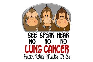 See Speak Hear No Lung Cancer 1