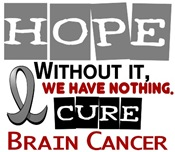 HOPE Brain Cancer T-Shirts, Gifts, & Apparel