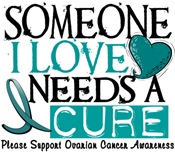 Needs A Cure OVARIAN CANCER T-Shirts & Gifts