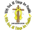 With God Bladder Cancer T-Shirts & Apparel