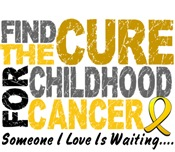 Find The Cure 1 CHILDHOOD CANCER T-Shirts & Gifts