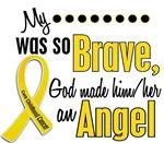 Angel 1 CHILDHOOD CANCER T-Shirts & Apparel