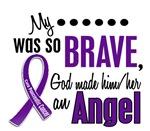 Angel 1 Pancreatic Cancer Shirts & Apparel