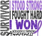 Survivor 4 Hodgkin's Lymphoma Tee-Shirts