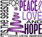 Christmas 1 Crohn's Disease Cards and Shirts