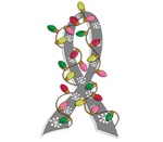 Christmas Lights Ribbon Parkinson's Disease Gifts