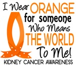 Means World To Me 1 Kidney Cancer Shirts