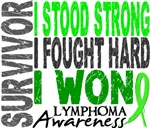 Survivor 4 Lymphoma Shirts and Gifts