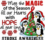 Stroke Christmas Cards and Gifts