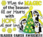 Bladder Cancer Christmas Cards and Gifts