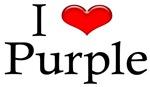 I Heart Purple