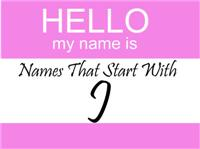 Names That Start With J