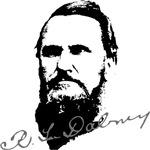 R.L. Dabney Portrait with Signature