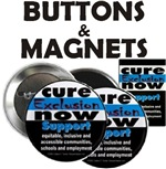 Cure Exclusion Buttons and Magnets