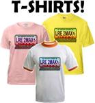 LRE to the Max T-shirts