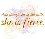 She is Fierce - Swirl