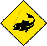 Fishing Area Sign