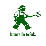 Farmers like to fork