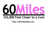 60Miles - 316,800 Feet Closer to a Cure