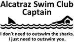 Alcatraz Swim Club Captain