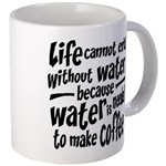 Life Depends on Coffee