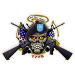 US Army Skull 1775