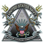 US Navy Honor Courage Commitment