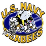 USN Navy Seabees Mad Bee