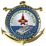 USN CV-77 USS G. H. W. Bush