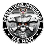 USN Operations Specialist Skull OS