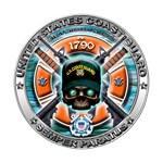 US Coast Guard 1790 Skull