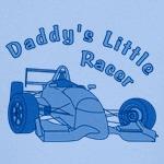 Daddy's Little Racer In Blue
