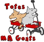 Totes Ma Goats Red Wagon