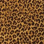 Gold Brown Leopard Print