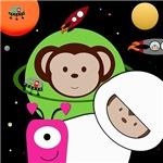 Space Monkeys Planet