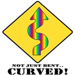 Not Just Bent... CURVED T-Shirts & Gifts