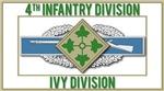 4th ID Ivy Division CIB