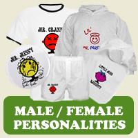 Personalities : Tees, Gifts & Apparel