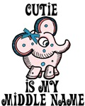 Cutie Is My Name Shirts and More