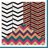Stylish Chevrons and Zigzags
