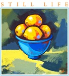Still Life - Bowl of Lemons
