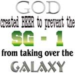 SG1, SGC, God & Beer
