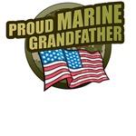Marine Grandfather T-Shirts