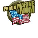 Marine Mom T-Shirts